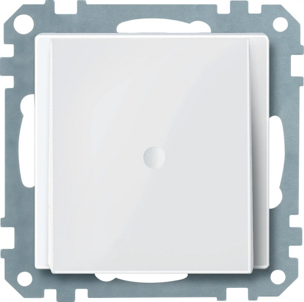 296819 Merten вывод кабеля (белый глянцевый)