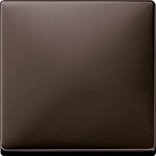Merten Выключатель одноклавишный (коричневый) System Design