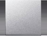 Merten Выключатель одноклавишный (алюминий) System M
