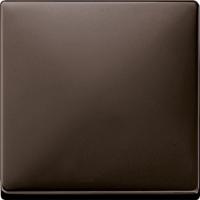 Merten Кнопочный выключатель с 1-НО контактом (коричневый) System Design