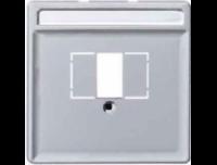 Merten Зарядное устройство USB с двумя выходами (алюминий) System Design