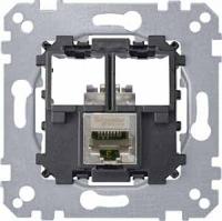 4575-0011 Merten розетка телекоммун 1xrj45 cat5e ftp