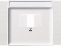 Merten Розетка для динамиков один канал с вставкой антрацит (полярно-белый) System Design