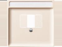 Merten Розетка для динамиков один канал с белой вставкой (бежевый) System Design