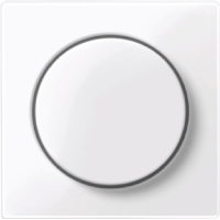 Merten Поворотный светорегулятор 20-420 Вт (активный белый) System M