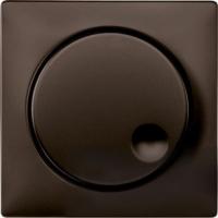 Merten Светорегулятор поворотно-нажимной 40-600 Вт. для ламп накаливания и галогеновых (коричневый) System Design