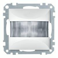 Merten Датчик движения, 25-300Вт, двухпроводное подключение, высота монтажа 1,1м, (активный белый) System M
