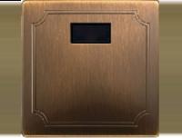 Merten Светорегулятор универсальный 25-420Вт (античная латунь) System Design