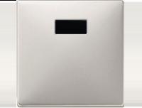 Merten Светорегулятор универсальный 25-420Вт (стальной) System Design