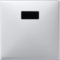 Merten Светорегулятор универсальный 25-420Вт (алюминий) System Design