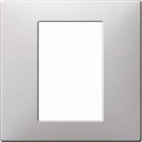 Merten Терморегулятор с сенсорным дисплеем программируемый (алюминий) System Design