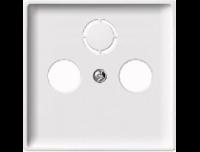 294119 Merten накладка розетки tv-fm/tv-fm-sat (полярно белый)