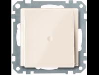 296844 Merten вывод кабеля (бежевый глянцевый)