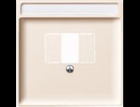 297844 Merten накладка для tae-розетки, моно-/стерео аудио розетки (бежевый)