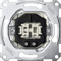 3105-0000 Merten Механизм 2-клавишного выключателя со световым индикатором