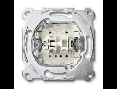 3128-0000 Merten переключатель + переключатель кнопочный