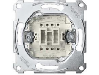 3154-0000 Merten выключатель кнопочный 2ho
