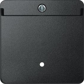315414 Merten выключатель с карточкой-ключом (антрацит)