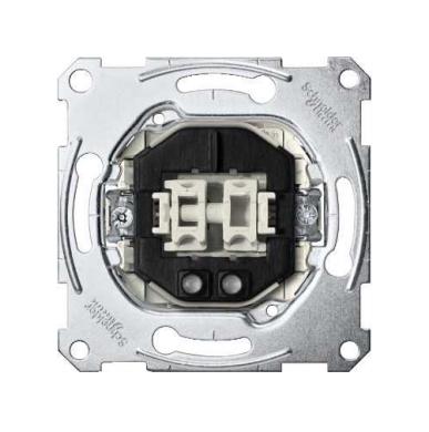3165-0000 Merten механизм 2-х клавиш 1-полюсного выключателя + инд. 10а