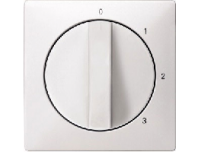 316919 Merten накладка регулятора частоты вращения (полярно белый)