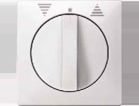 319219 Merten накладка жалюзийная поворотная (полярно белый)