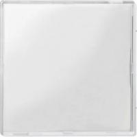 3340-3500 Merten накладка на одноклавишные механизмы (прозрачный белый)