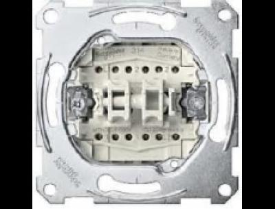 3626-0000 Merten механизм 2-кл. переключателя 16 ах