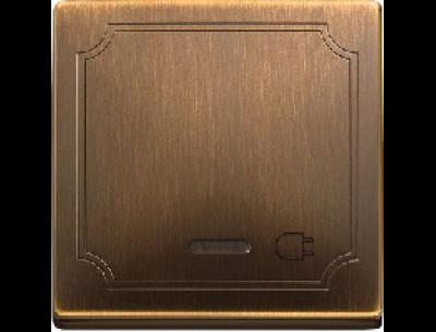 391943 Merten заглушка (античная латунь)