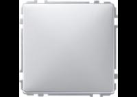 391960 Merten заглушка (алюминий)
