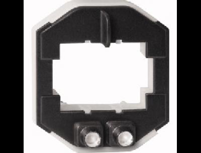 3942-0000 Merten вставка светодиодной подсветки многоцветная (для мех quickflex) для 2-клав выключателей