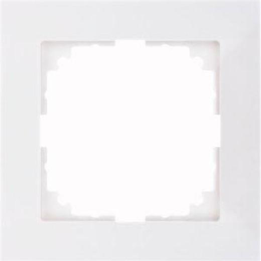 4010-3619 Merten рамка 1-постовая рамка(полярно-белый)