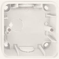 4014-1244 Merten коробка для открыт монтажа, 1 пост (бежевый)