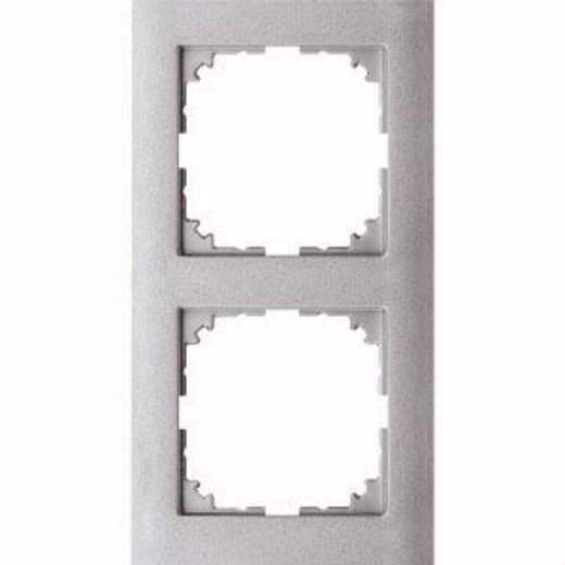 4020-3660 Merten рамка 2-постовая рамка(цвет алюминия)
