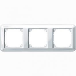 4030-1219 Merten рамка 3-я (белый)