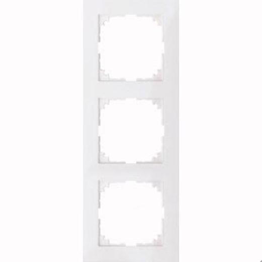 4030-3619 Merten рамка 3-постовая рамка(полярно-белый)