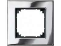 403139 Merten рамка 1-я (хром)