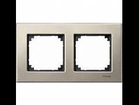 403205 Merten рамка 2-я (титан)