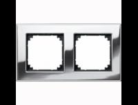 403239 Merten рамка 2-я (хром)