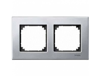403260 Merten рамка 2-я (платина серебро)