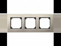 403305 Merten рамка 3-я (титан)