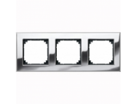 403339 Merten рамка 3-я (хром)