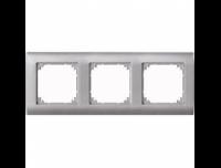 403360 Merten рамка 3-я (платина серебро)