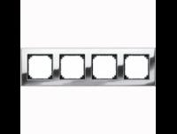 403439 Merten рамка 4-я (хром)