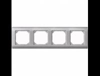 403460 Merten рамка 4-я (платина серебро)