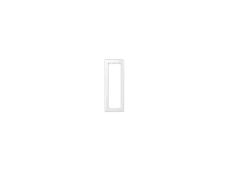 4035-3500 Merten рамка 3-пост. без перегородки (прозрачно белый)