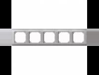 403560 Merten рамка 5-я (платина серебро)