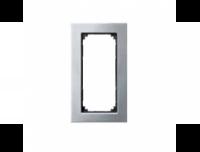 403839 Merten рамка 2-я без перегородки (хром)