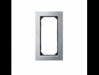 403860 Merten рамка 2-я без перегородки (платина серебро)