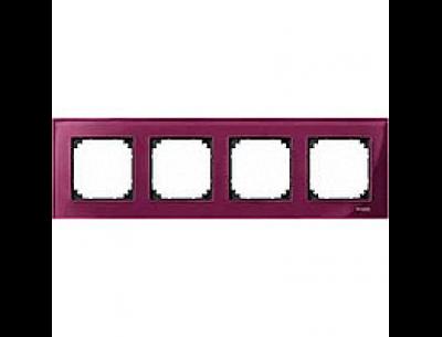4040-3206 Merten рамка 4-я (рубин)