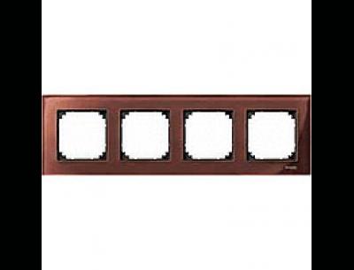 4040-3215 Merten рамка 4-я (махагон)